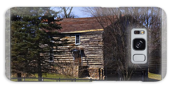 Old Log Home Galaxy Case by Walter Herrit