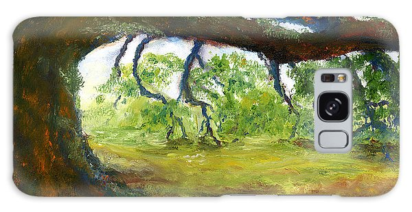 Old Louisiana Plantation Oak Tree Galaxy Case
