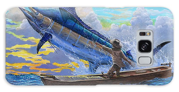 Men Galaxy Case - Old Man And The Sea Off00133 by Carey Chen