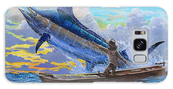 Old Man And The Sea Off00133 Galaxy Case by Carey Chen