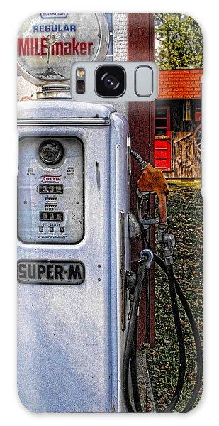 Old Marathon Gas Pump Galaxy Case
