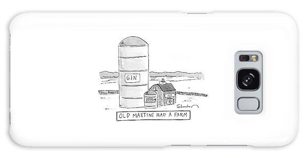 Old Martini Had A Farm Galaxy Case