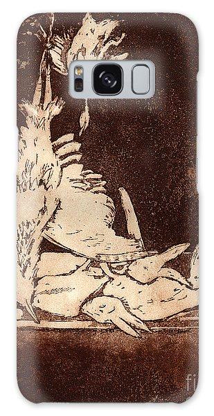Old Masters Still Life - With Great Bittern Duck Rabbit - Nature Morte - Natura Morta - Still Life Galaxy Case