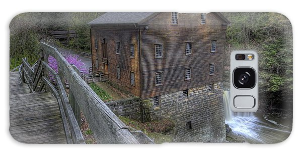 Old Mill Of Idora Park Galaxy Case