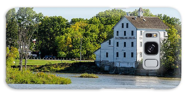 Old Mill On Grand River In Caledonia In Ontario Galaxy Case