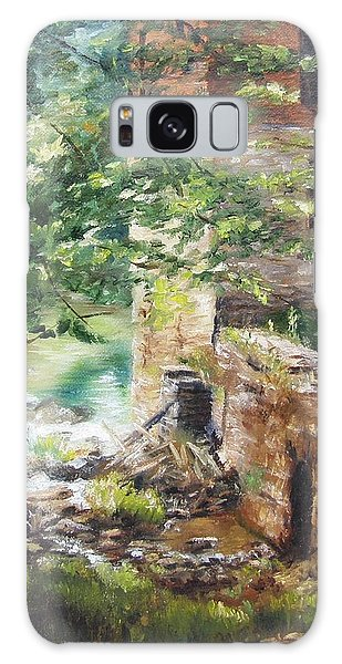 Old Mill Stream I Galaxy Case