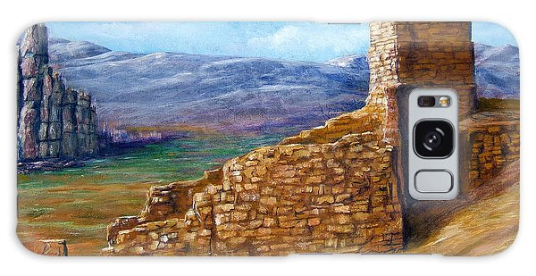 Old Mission Landscape New Mexico Galaxy Case by Lenora  De Lude