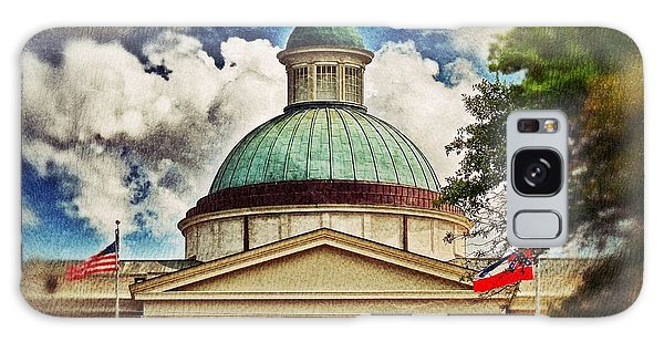 Old Mississippi Capitol Building Galaxy Case