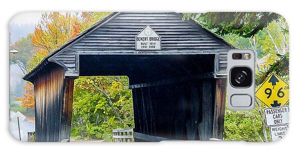 Old New Hampshire Bridge Galaxy Case