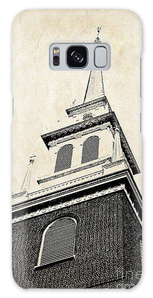 Brick House Galaxy Case - Old North Church In Boston by Elena Elisseeva