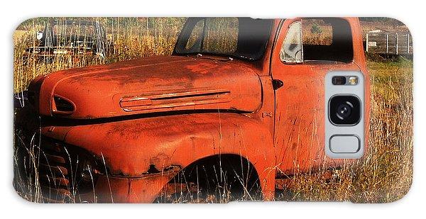 Old Orange Galaxy Case