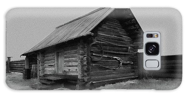 Old Peasant House 2 Galaxy Case