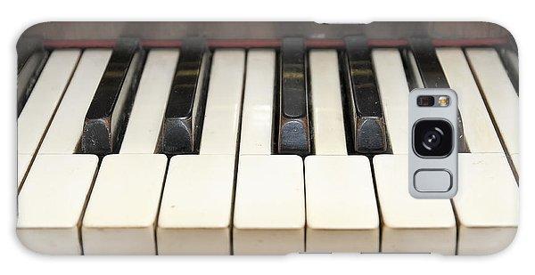 old piano II Galaxy Case