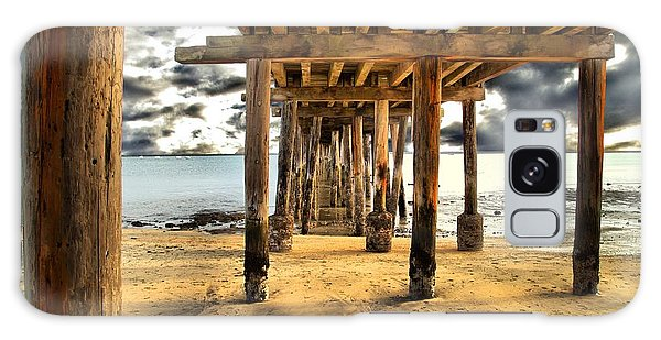Old Pillar Point Pier Galaxy Case