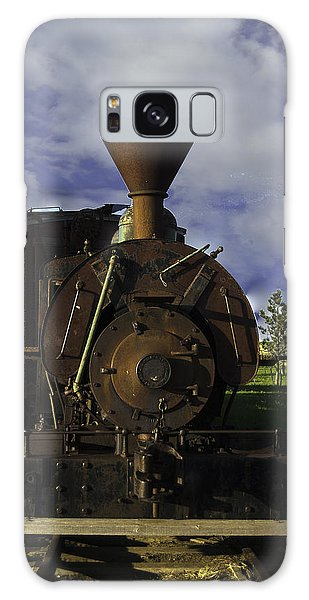 Old Prairie Train Galaxy Case