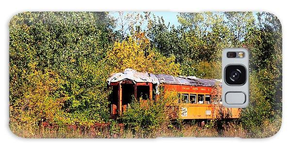 Old Rail Car Galaxy Case