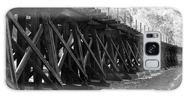 Old Rail Trestle Galaxy Case