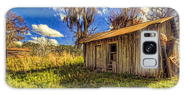 Old Ranch Hand Shack Galaxy Case by Lewis Mann