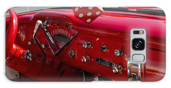 Old Red Chevy Dash Galaxy Case by Tikvah's Hope