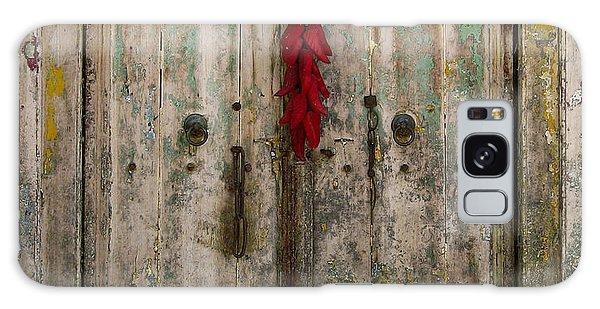 Old Ristra Door Galaxy Case