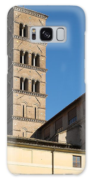 Old Rome Bell Tower Galaxy Case