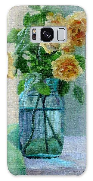 Old Roses Galaxy Case by Bonnie Mason