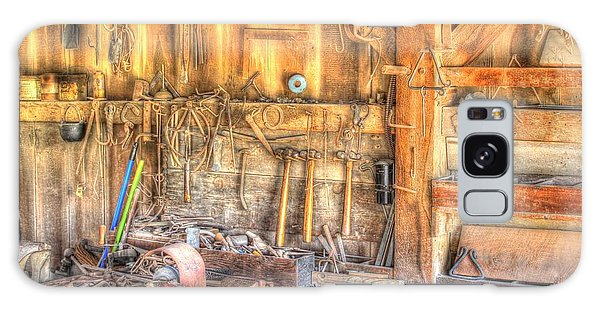 Old Rustic Workshop Galaxy Case