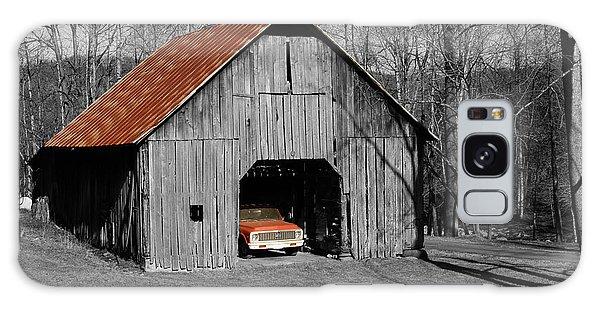 Old Rusty Barn  Galaxy Case by Donald Williams