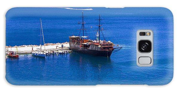 Old Sailing Ship In Bali Galaxy Case