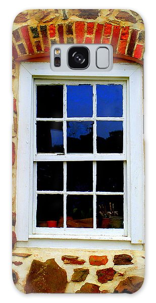 Old Salem Window Twelve Galaxy Case