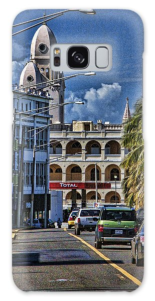 Old San Juan Cityscape Galaxy Case