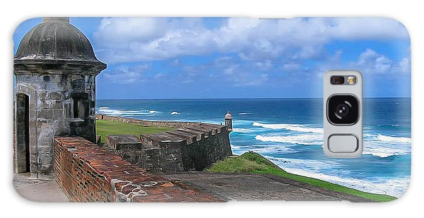 Old San Juan Puerto Rico  Galaxy Case by Trace Kittrell