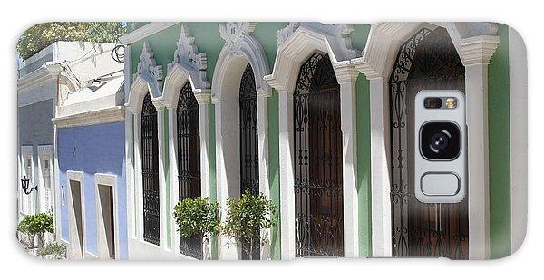 Old San Juan Street Galaxy Case