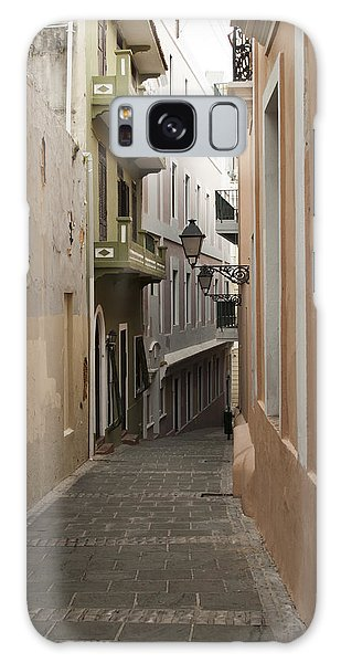 Old San Juan Street Galaxy Case