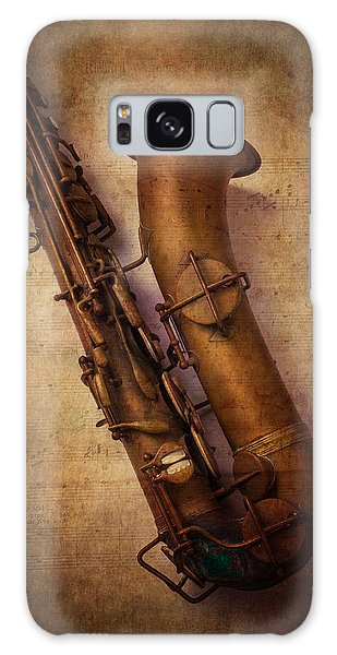 Saxophone Galaxy S8 Case - Old Sax by Garry Gay