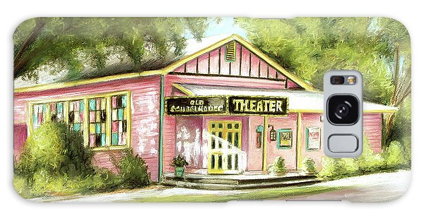 Old Schoolhouse Theater On Sanibel Island Galaxy Case