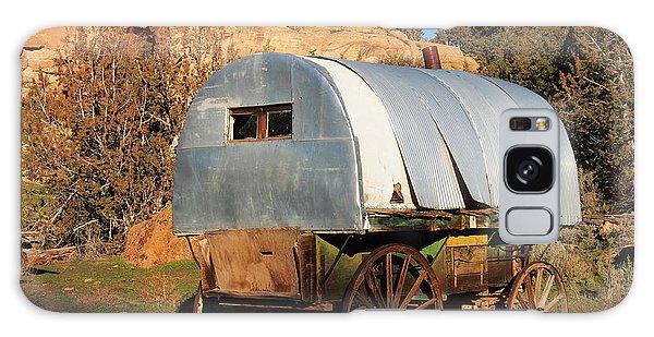 Old Sheepherder's Wagon Galaxy Case
