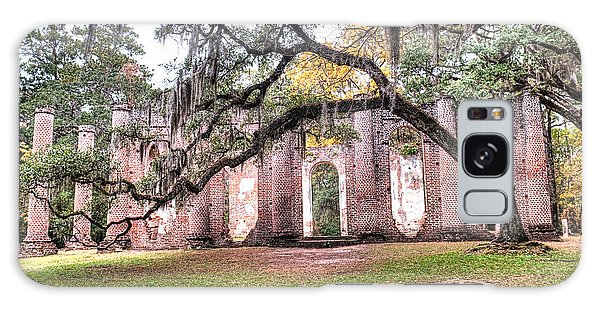 Old Sheldon Church - Bending Oak Galaxy Case