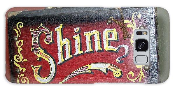 Old Shoe Shine Kit Galaxy Case