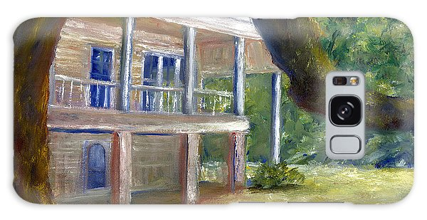 Old Southern Louisiana Mansion Plantation Galaxy Case by Lenora  De Lude