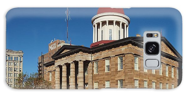 Old State Capital Springfield Illinois Galaxy Case