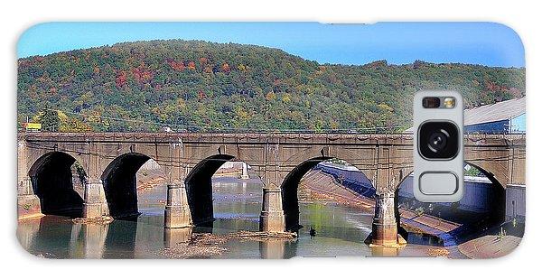 Old Stone Bridge - Johnstown Pa Galaxy Case