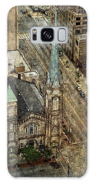 Old Stone Church Galaxy Case