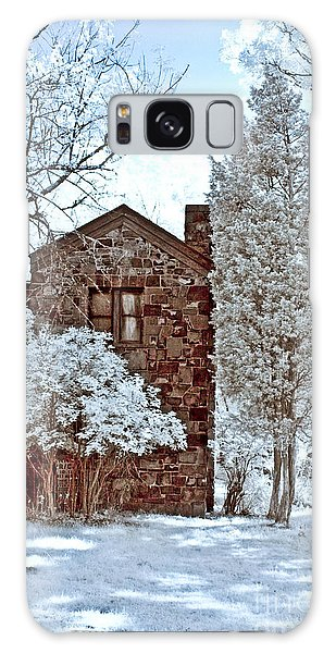 Old Stone House Galaxy Case