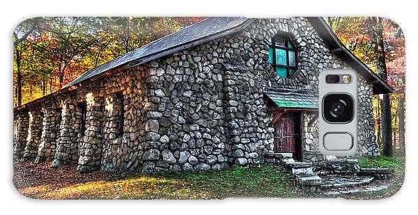 Old Stone Lodge Galaxy Case