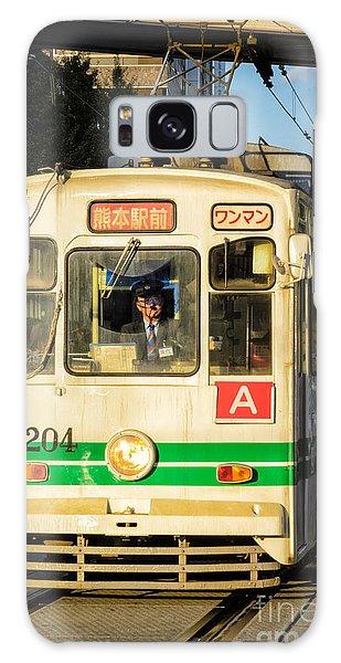 Old Streetcar In Kumamoto - Kyushu - Japan Galaxy Case