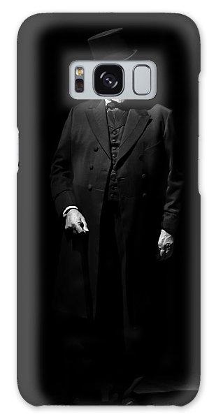 Vintage Gentlemen With Tall Hat - Style Has Not Deadline Galaxy Case