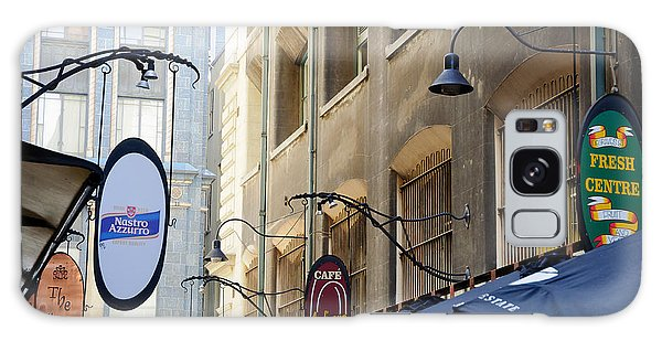 Old-style Signs Above A Melbourne Laneway Galaxy Case