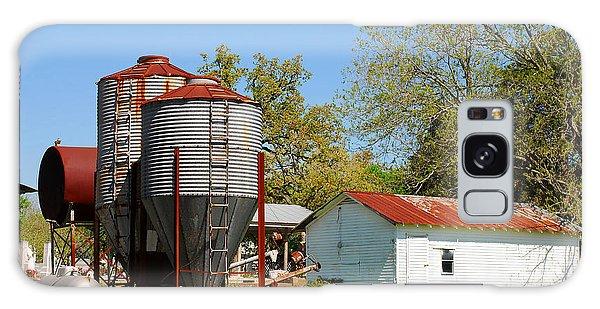 Old Texas Farm Galaxy Case by Connie Fox