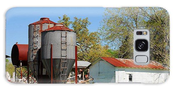 Old Texas Farm Galaxy Case